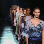 Take a trip through the breathtaking beauty of the Himalayas, from the snow-capped mountains to the colourful rock formations that form an abundant source of colour and texture inspiration for Prabal Gurung's Spring/Summer 2015 collection.