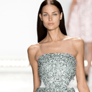 Inspired by the iridescent shimmer created by the sun lighting up the elements, Monique Lhuillier's collection for Spring/Summer 2015 is for the modern, playful woman who wants to feel young and pretty when she next walks the red carpet or attends a