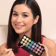 Most of us are a little scared using bright colours for our eyeshadows but Sonya shows you how to use colour on your eyes to add dimension and fun to your look.