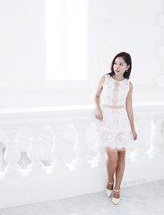 White x lace 💋 #Clozette