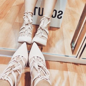 my new shoes from shopbop.com . Brand: Schutz