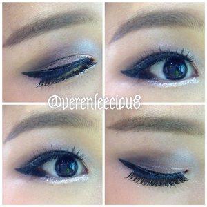 I'm soo addicted to make up lately! Here's my eyemake up details:Eyeshadow: Naked3 & NYX Lovers in parisEyelashes: Lavie lashWaterliner: Maybeline Japan 'Big Eyes' editionEyebrow: CanmakePrimer: Urban Decay