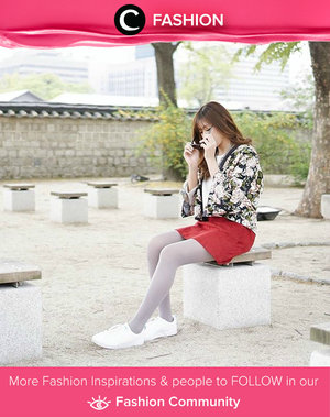 Menambahkan kimono sebagai outer dalam gaya kasual akan membuatmu semakin unik. Simak juga inspirasi Fashion ala clozetters lainnya hari ini di Fashion Community. Image shared by Clozetter: mariaistella. Yuk, share outfit favorit kamu bersama Clozette.
