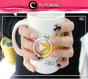 See the easy way to get flower nail art, here http://bit.ly/211knw7. Video shared by Clozetter: Chocolatelove. Yuk, simak Tutorial Nails Update lainnya hari ini, di sini http://bit.ly/tutorialnails. See All Tutorials: http://bit.ly/alltutorials