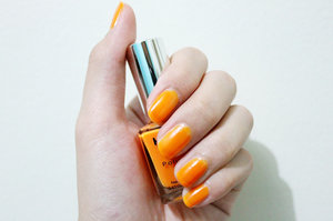 My kind of nail of the day, Orange!