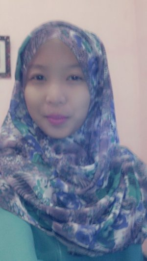 This is my hijab simple