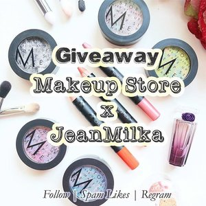 "Hello my lovely followers, to celebrate the launch of my YouTube Channel, Me and @makeupstoreindonesia are collaborating for a giveaway.  You'll have chance to win #MakeupStore product worth 2.600.000 IDR for 5 winners. How would you win them?  1. Follow and spam likes @jeanmilka and @makeupstoreindonesia  2. Regram this picture and tag 5 of your friends who loves makeup with #makeupstorexjean  3. Tell us what is your favorite MAKE UP STORE product? or which one you want to try the most? on the caption.  4. Subscribe to my youtube channel ""jeanmilka"" *link is on bio* because I'll have a makeup tutorial using all #makeupstore product.  5. You can post more than one time with different answer on the caption.  6. Giveaway contest will be closed at 28 August 2015  More info about makeup store is at http://www.makeupstore.se/  Don't forget to join and give us your best answers because everyone have a chance to win ^^ #clozetteid #giveaway #giveawayindo #giveawayondonesia #makeup #makeupjunkie #makeuplover"